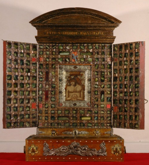 Man of Sorrows reliquary cabinet from Santa Croce in Gerusalemme, Rome