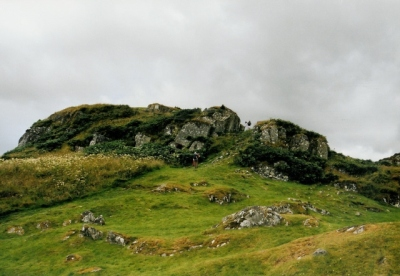 The inner fort at Dunadd, Argyll, Scotland, from Wikimedia Commons