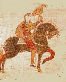 Harold Godwineson in the Bayeux Tapestry