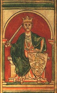Richard the Lionheart, in a twelfth-century illustration