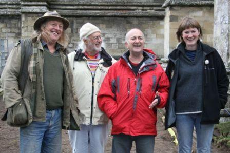 Time Team at Salisbury Cathedral, 2009