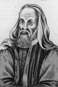 Non-contemporary portrait of British heresiarch Pelagius