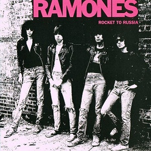 Cover of Ramones' album Rocket to Russia