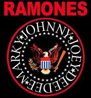 Logo of the band the Ramones, based on the United States Great Seal