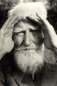 Portrait photograph of George Bernard Shaw