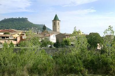 View of Santa Eulàlia de Riuprimer