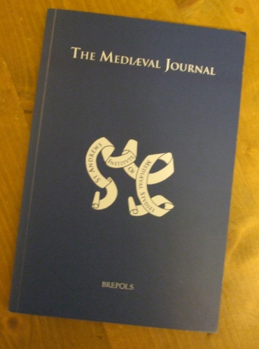Cover of volume 1 issue 2 of The Mediæval Journal