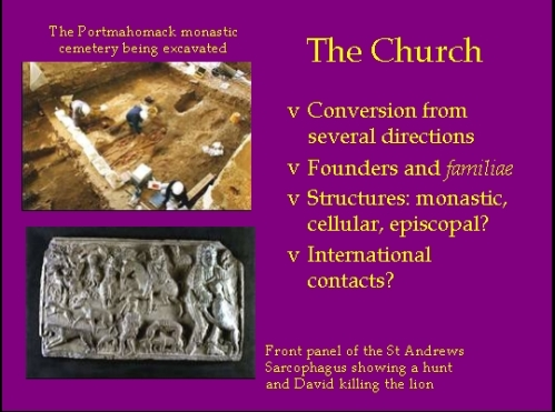 "Slide from lecture by J. Jarrett, ""The Kingdoms of the North"", British History I (300-1087), University of Oxford 25th October 2012"