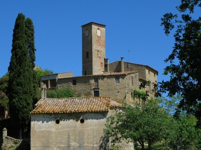 Church of Sant Miquel de; Castell de Castellterçol, from Wikimedia Commons