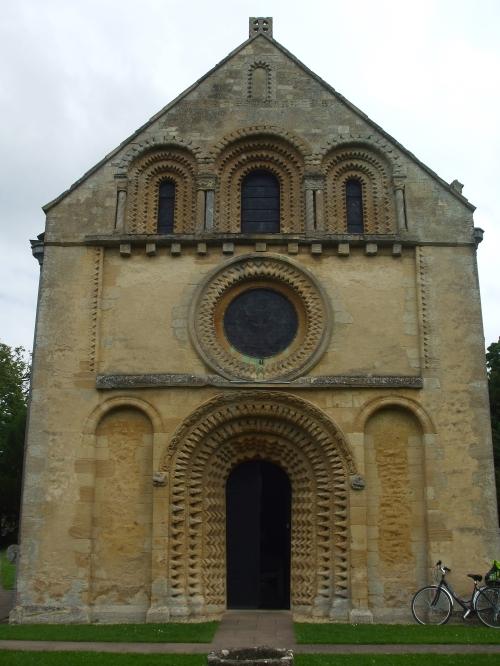 West façade of church of St Mary The Virgin, Iffley