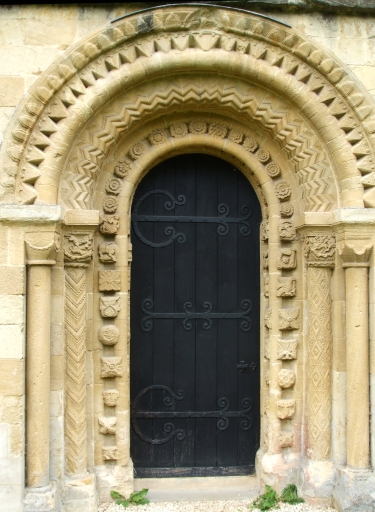 North portal of church of St Mary the Virgin, Iffley