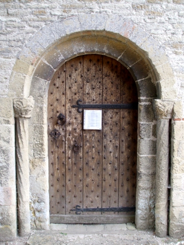 Portal of Cuxham church