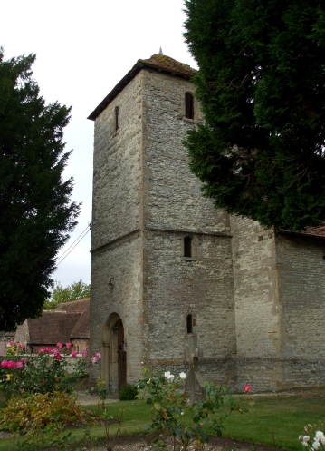 Tower of the Church of the Holy Rood, Cuxham