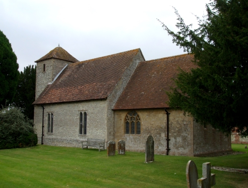South side of Cuxham church