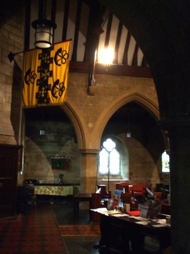 North aisle of St Leonard's Watlington, interior