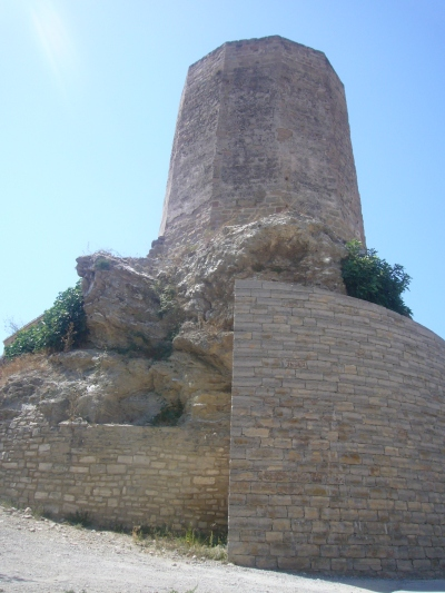 The Castell d'Òdena, image from Wikimedia Commons