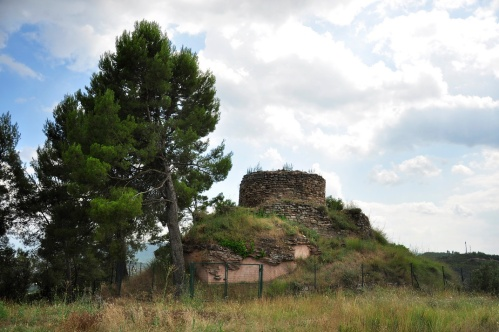 The Castell de Gotmar at Callús, from Wikimedia Commons