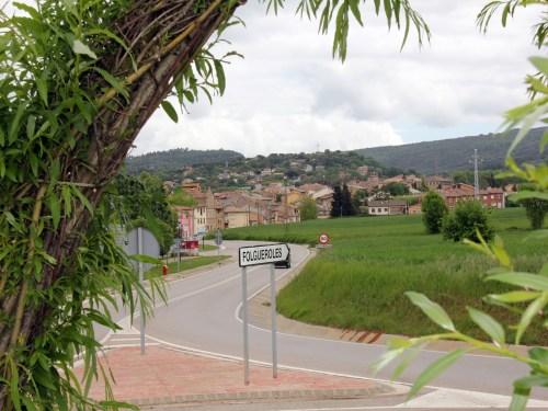 Approach to Folgueroles, near Vic, Catalonia