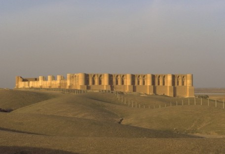 The restored al-'Ashiq palace at Samarra