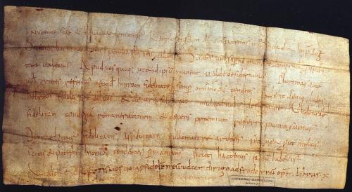 Barcelona, Arxiu Capitular de la Catedral de Barcelona, pergamino 3-3-1