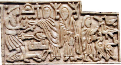 Wayland the Smith as depicted on the Franks Casket