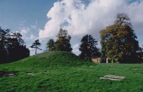 The Anglo-Saxon burial mound at Taplow, Buckinghamshire