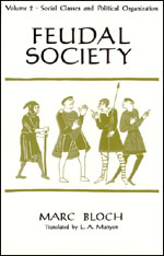 Cover of volumee II of Marc Bloch's Feudal Society