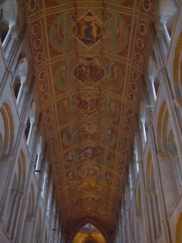 Vaulting in the nave of Ely Cathedral