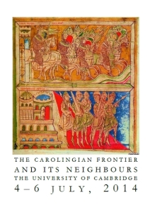 "Cover of the programme of the conference ""The Carolingian Frontier and its Neighbours"", 4th-6th July 2014, Cambridge"