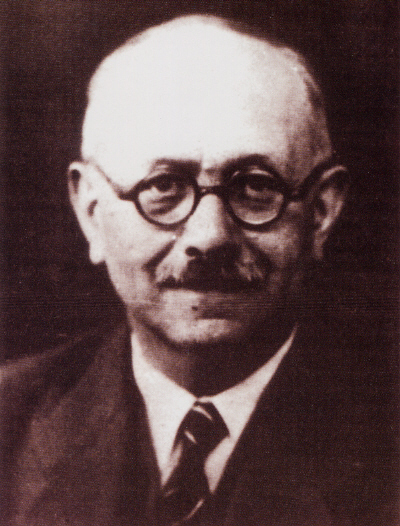 Portrait photograph of Marc Bloch from Wikimedia Commons