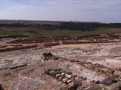 View of the excavation site at Recópolis