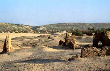 Christian-period ruins at Ansinā on the Upper Nile