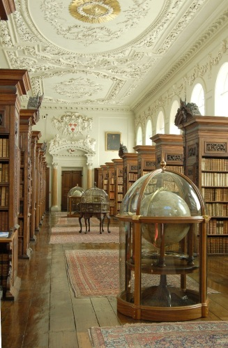 The Upper Library of the Queen's College, Oxford