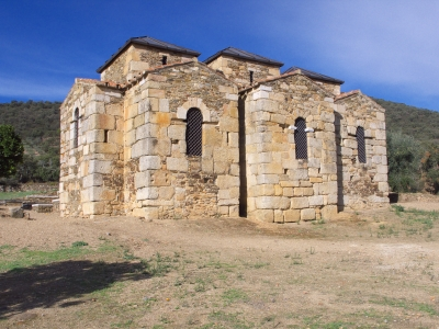 The supposedly-Visigothic church of Santa Lucía del Trampal