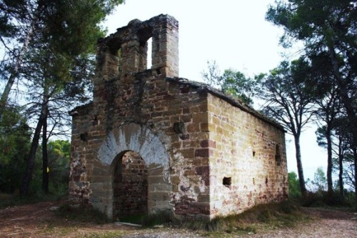 The fourteenth-century hermitage of Sant Valentí de Montpeità