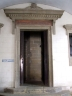 Entrance to the Arxiu i Biblioteca de Vic