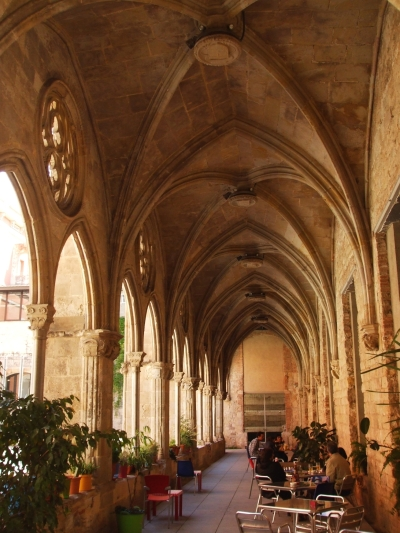 Vaulting remaining from the cloister of Sant Agustí Vell, Barcelona