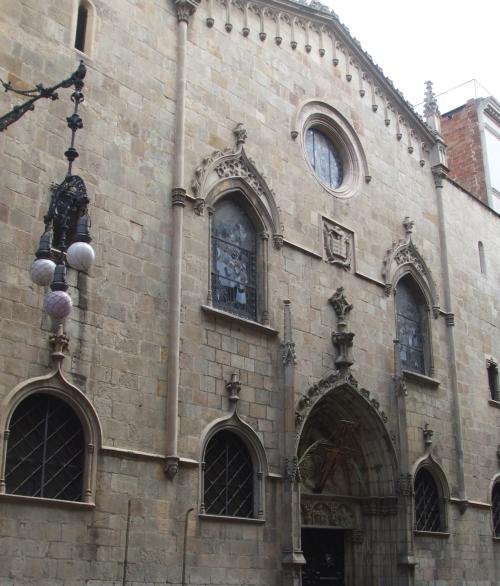 The Església de Sant Jaume, Barcelona