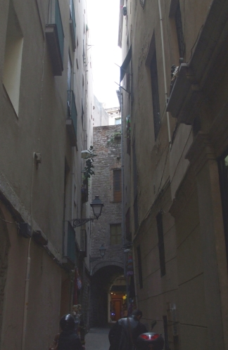 Probabe medieval house in a Barcelona backstreet