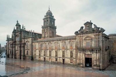 The monastery of San Salvador de Celanova in its modern form