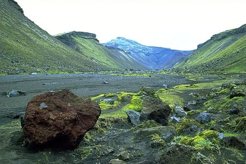 The Icelandic volcano of Eldgjá