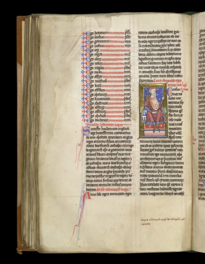 British Library, Cotton MS Claudius B VI, fo. 109v