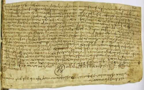 Arxiu Capitular de Vic Calaix 6 no. 701