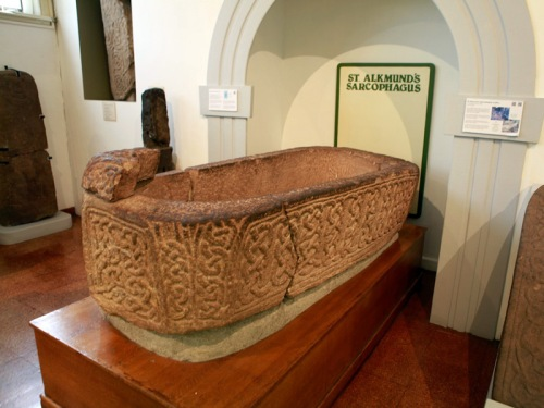 St Alkmund's Sarcophagus, from St Alkmund's Duffield, Derby, now in Derby Museum