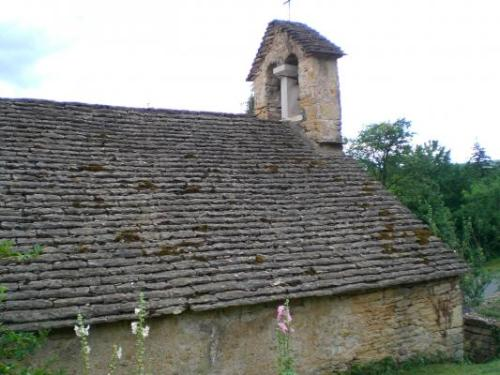 The chapel of Saint-Laurent de Collonge, Lournand, Burgundy