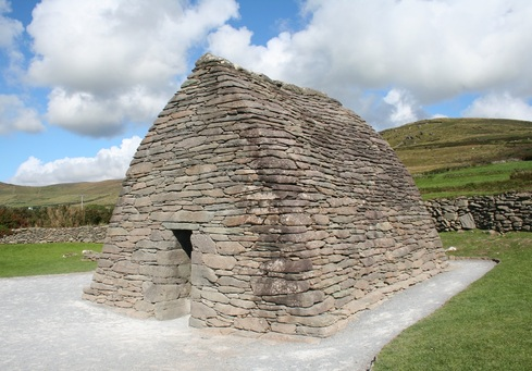 The early medieval Gallerus oratory in County Kerry