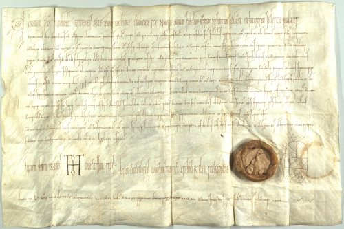 Einsiedeln, Klosterarchiv Einsieden A BI 1, a confirmation of privuleges and immunity to the house from Emperor Otto I, 947