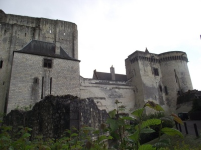 The donjon of the Château de Loches