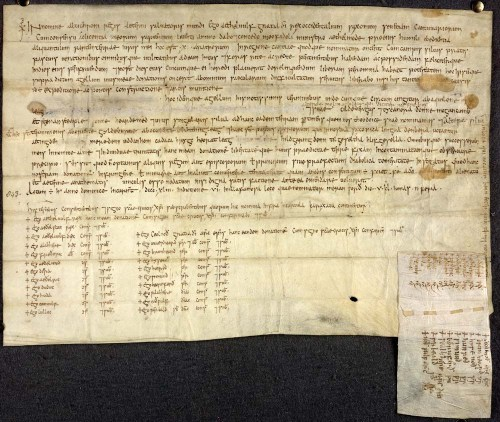 Charter of King Æthelwulf of Wessex to his <i>minister</i> Æthelmod, 843