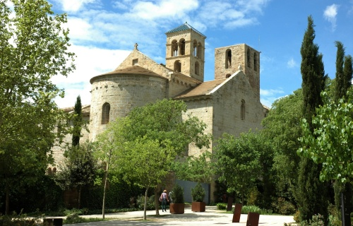 View of Sant Benet de Bages